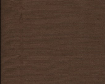 "New Dark Brown Solid 100% Cotton Fabric 1 yard 3"" x 42"" Piece"