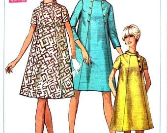 1960's Maternity Dress Bust 31.5