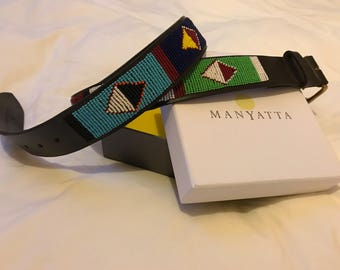 Maasai beaded belt (Turkana)