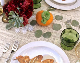 Thankful Leaf, Thanksgiving Decor, Thankful, Table Decor, Rustic, Thankful, Holiday Decor, Thanksgiving Table, Thanksgiving Sign