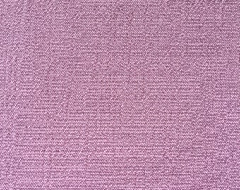 Soft pink pleated cotton fabric