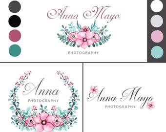 Logos, Photography Logo, Logo Branding, Premade Logo, Business Branding, Feminine Logo, Logo Brand, Branding Design, Custom Branding, Brand