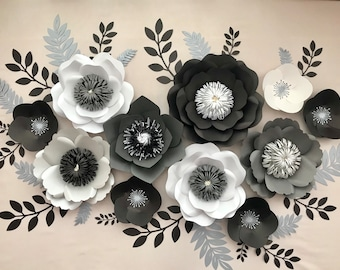 Set of 11 flowers