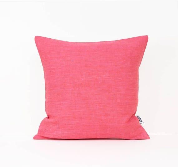 Koralle Kissen Lachs Kissen Mädchen Zimmer Dekor rosa