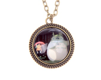Totoro and mei Necklace, 2020C