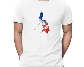 Philippines  Country Map Color Simple T-Shirt