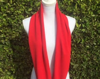 Gorgeous Soft conf Red Wrap around scarf