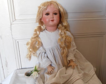 A French antique speaking doll