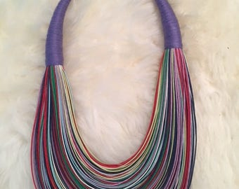 Handmade Thread Necklace