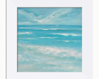 Beyond the Waves Picture - Limited Edition Fine Art Print, Original Artwork by Tracey Zorek