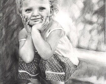 Custom Graphite Pencil Drawing