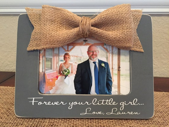 Forever And Always Your Little Girl Father Of The Bride Gift For Dad ...