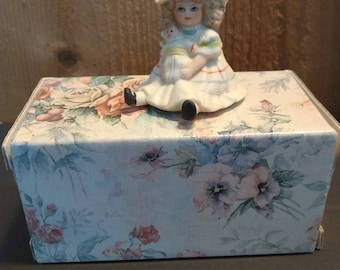 Jan Hagara JENNY doll miniature figurine M11346 by Royal Orleans