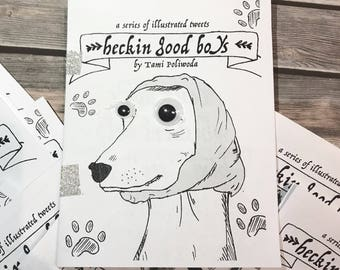 Dog Lover Zine Art Book