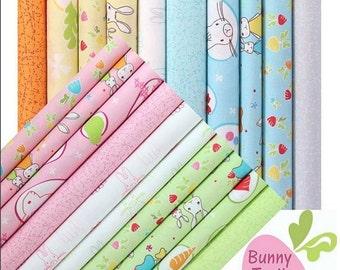 """Bunny Trail - Log - 40 x 2.5"""" Strips"""