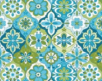 SPLENDOR - Ceramic Blue - 1/2 YARD - C3913 - Riley Blake - Lila Tueller