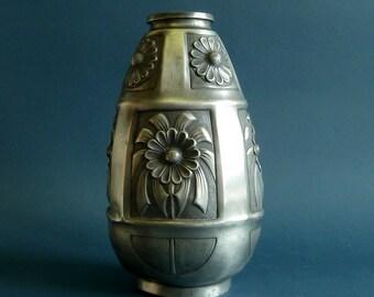 Art nouveau vase A.Villien