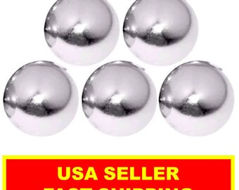 1/2 Inch Super Strong Neodymium Rare Earth Sphere Magnet (5 Pack)