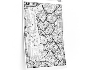 Map Of Spire