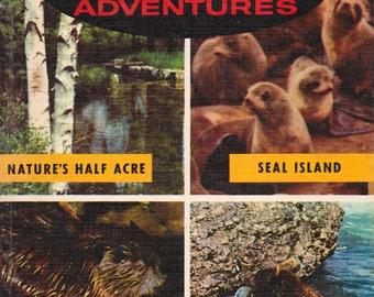 Walt Disney's True-Life Adventures - a vintage book