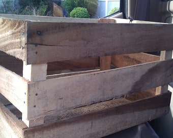 Wooden Orchard Crates
