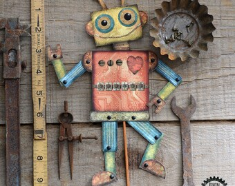 Articulated Robot, Paper robot DIY, Retro Robot download, Robot Paper craft, Robot Party Craft, Robot card download, robot, RobinDavisStudio