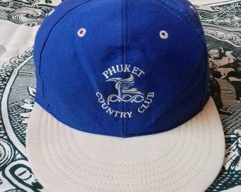 Rare vintage cap Phuket Country Club by Texace