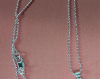 Jade grün - Jade, ovale, flache Glas Cut-Away Blumen und Silber Halskette - schöne grüne Halskette