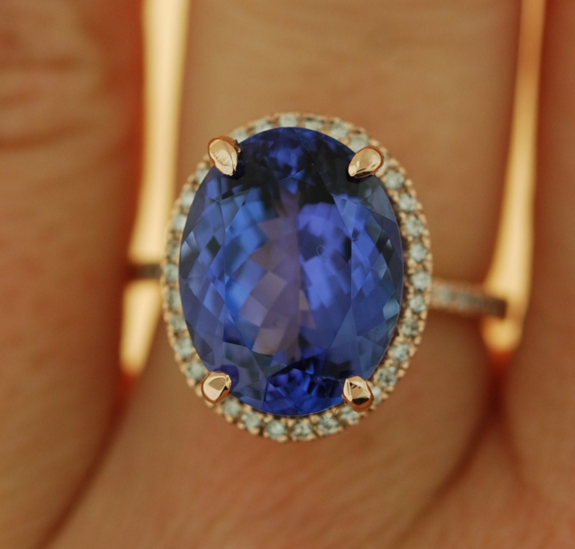 finland product rings en tanzanite tansaniitti ring gia with halosormus jubilee
