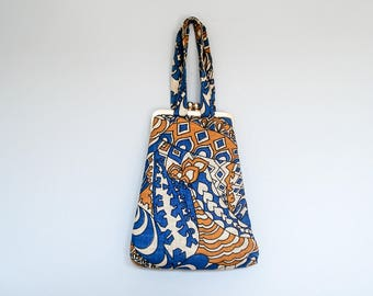 FOUND IN SPAIN -- fabulous graphic handbag