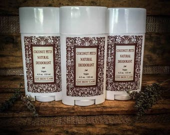 All Natural Vegan Deodorant