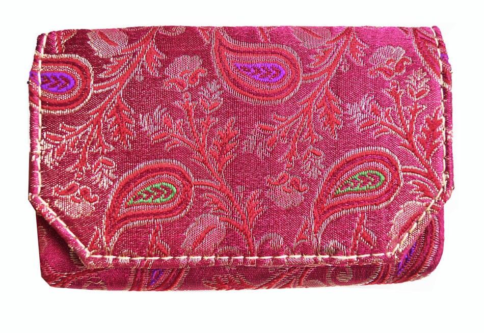 Recycelten Sari Handmade Umschlag Kupplung Tasche mit