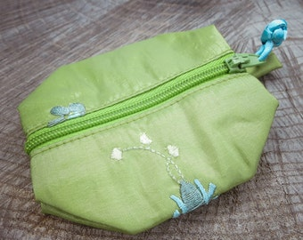 Floral Coin Purse ~1 pieces #100652