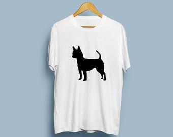 Shorthaired Chihuahua - Digital Download, Chihuahua Art, Dog Silhouette, Dog Decor, SVG, JPG, PDF