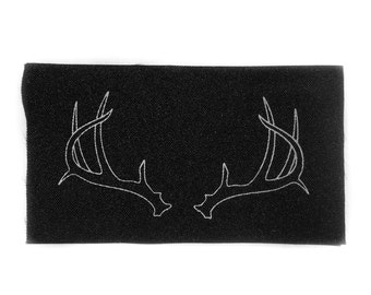 Antler Patch - Print on Canvas
