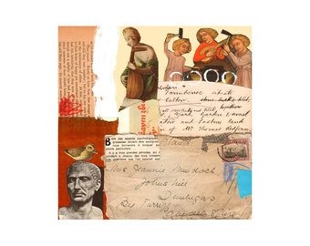 Eternal 1. Open Edition Print. Vintage Theme.