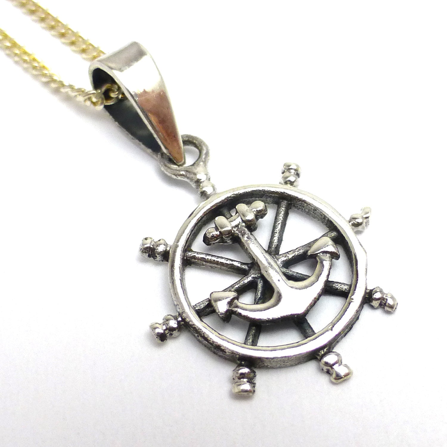 fishing grace pendant products anchored necklace my gone