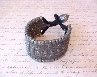 Unusual and Handsome Middle Eastern Beduoin Tribal Bracelet-Will Also Fit Small Ankle