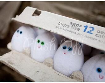 Dozen Eggs Postcard - 1st Edition