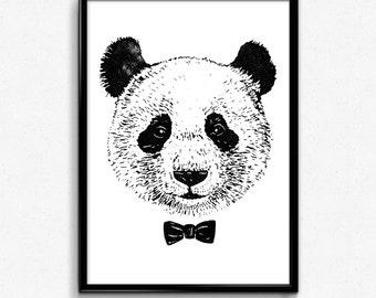Cute Panda- poster