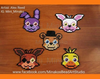 Five Nights at Freddy's Plush Themed Necklaces