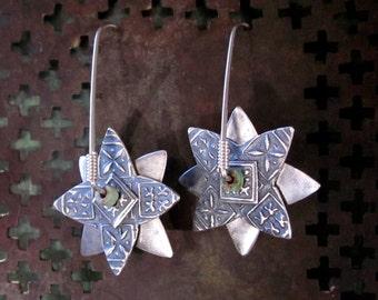 Sterling Spinner Earrings