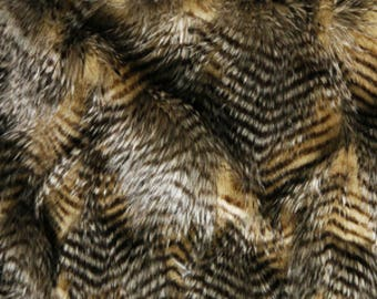 """Feather Fur - Many colors available - Faux Fur yardage - 1/2 Yard by 60"""" wide (more available)"""