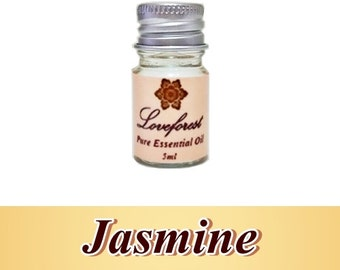 Jasmine 5ml Pure Therapeutic Essential Oil Free Shipping