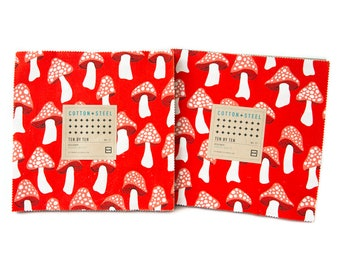 Front Yard -Cotton and Steel - Sarah Watts -Fat Eighths Bundle OR 10 inch Squares- Pre Order