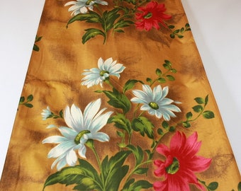 Original 60s curtain fabric, by the meter, dead stock