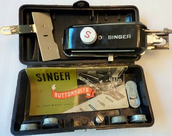 Singer Buttonhole Attachment 1948 Vintage Made in USA