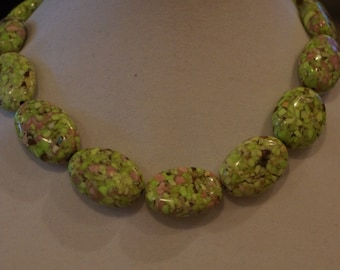 Green Magnesite Necklace