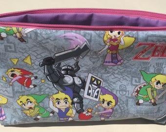The Legend of Zelda Cosmetic Bag - Link, Videogames, Geekery.