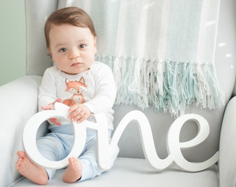 ONE sign photo prop, wooden sign 1st Birthday photo props, First Birthday  ONE, photo props  one, number one, Wooden Number